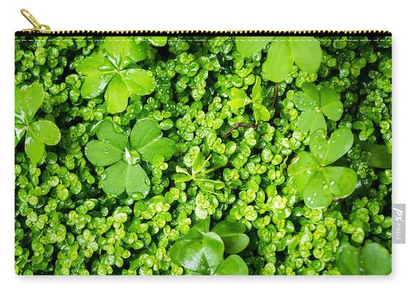 Lush Green Soothing Organic Sense Carry-all Pouch