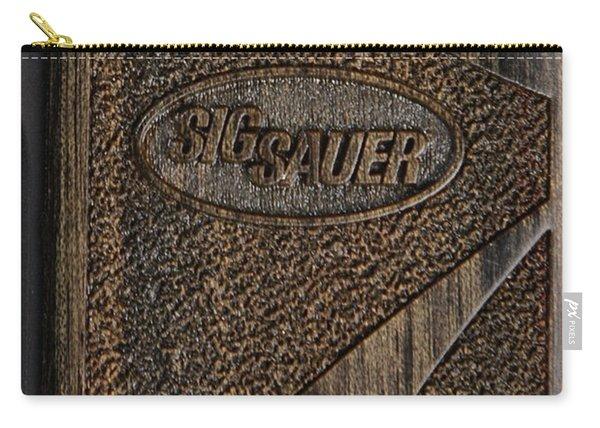Closeup Of Sig Sauer Pistol Grip Carry-all Pouch
