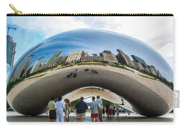 Cloud Gate Aka Chicago Bean Carry-all Pouch