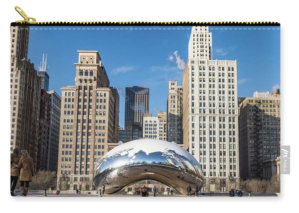 Cloud Gate To Chicago Carry-all Pouch