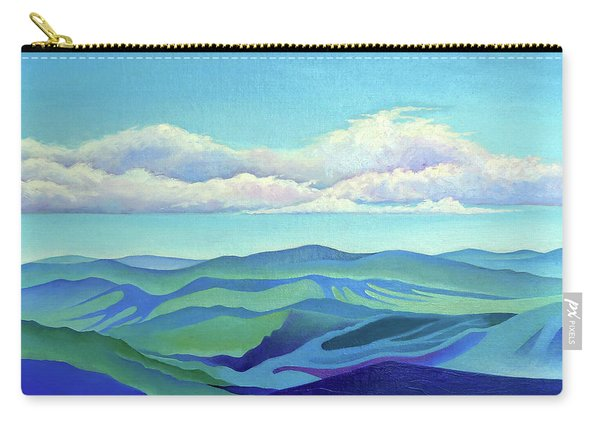 Cloud Shadows Oceans Of Mountains Carry-all Pouch