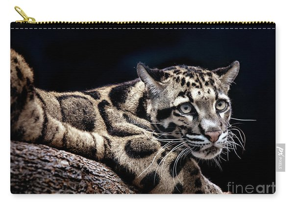 Clouded Leopard Carry-all Pouch