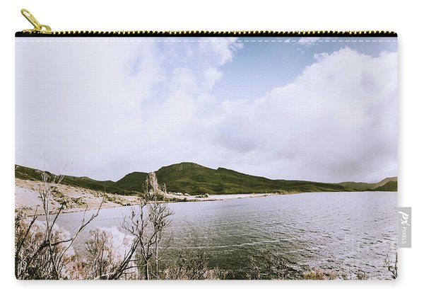 Clouds And Calm Waters Carry-all Pouch