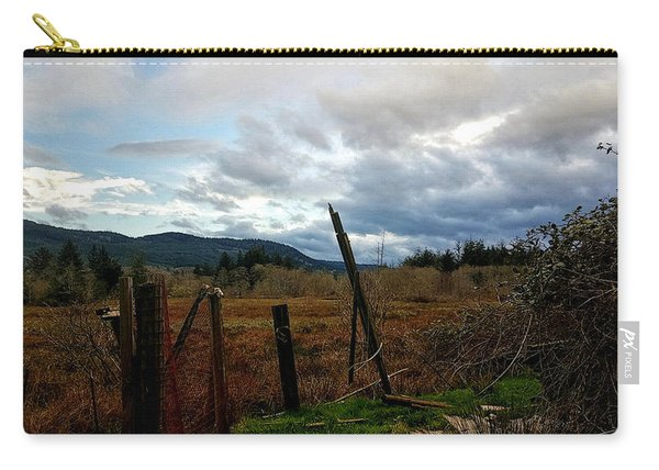 Clouds And Field Carry-all Pouch