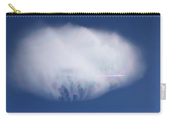 Carry-all Pouch featuring the photograph Clouds From Home by Margarethe Binkley