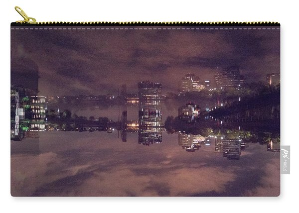 Clouds In The Passaic - Newark Nj Carry-all Pouch
