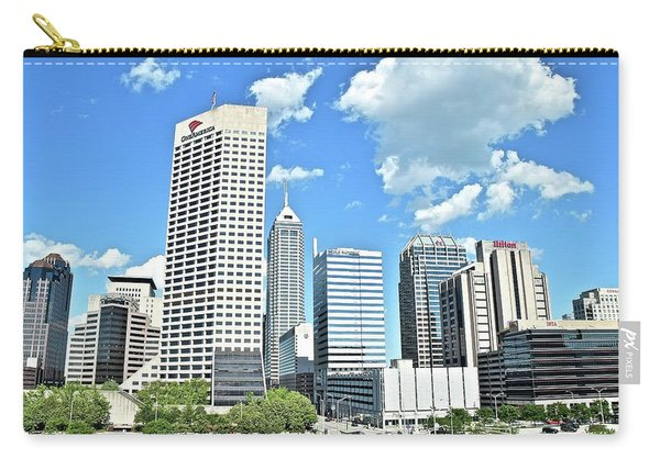Clouds Over Indianapolis Carry-all Pouch