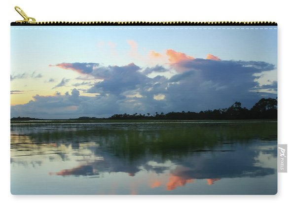 Clouds Over Marsh Carry-all Pouch