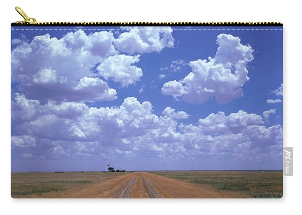 Clouds Over Prairie Amarillo Tx Carry-all Pouch