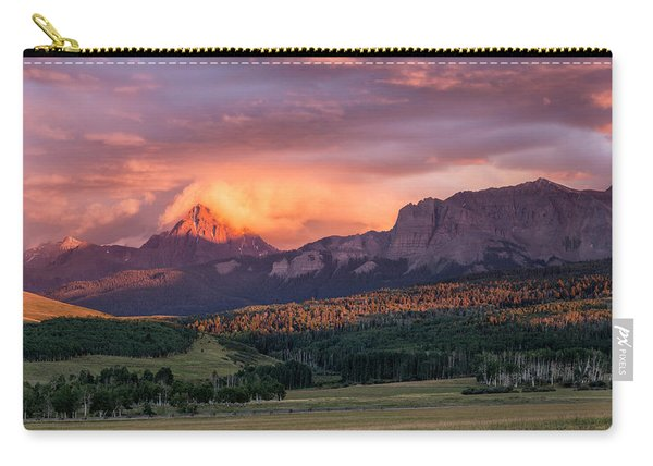 Clouds Over Sneffels At Sunset Carry-all Pouch