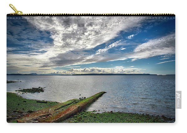 Clouds Over The Bay Carry-all Pouch