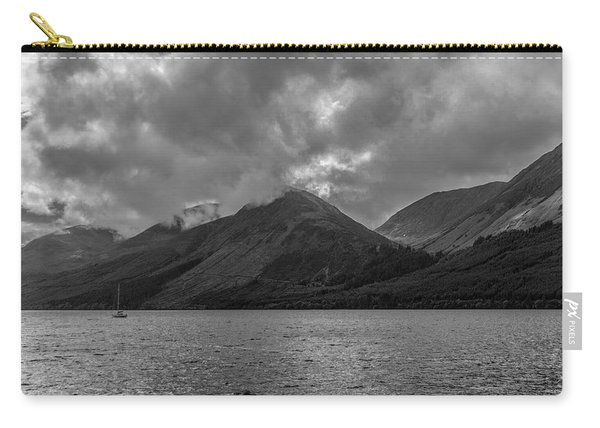 Clouds Over Loch Lochy, Scotland Carry-all Pouch