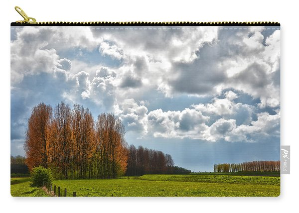 Clouds Over Voorne Carry-all Pouch