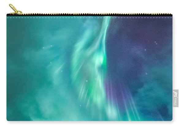 Clouds Vs Aurorae Carry-all Pouch