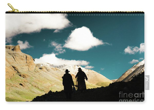 Clouds Way Kailas Kora Himalayas Tibet Yantra.lv Carry-all Pouch