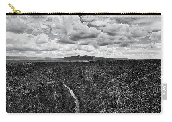 Cloudscape Over Taos Gorge Carry-all Pouch