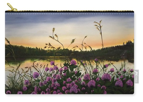 Clover Sunrise  Carry-all Pouch