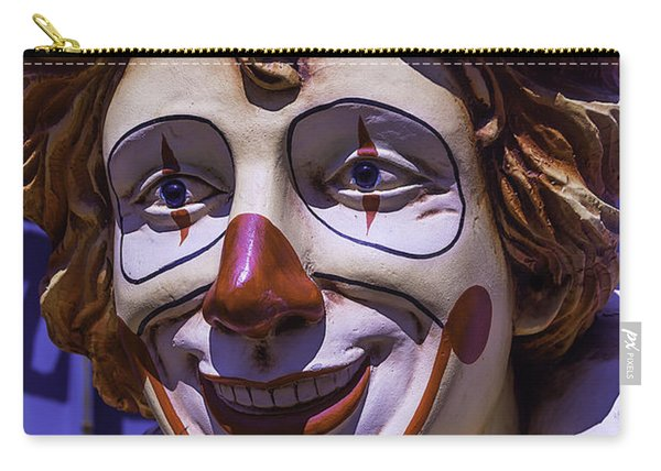Clown Face Carry-all Pouch