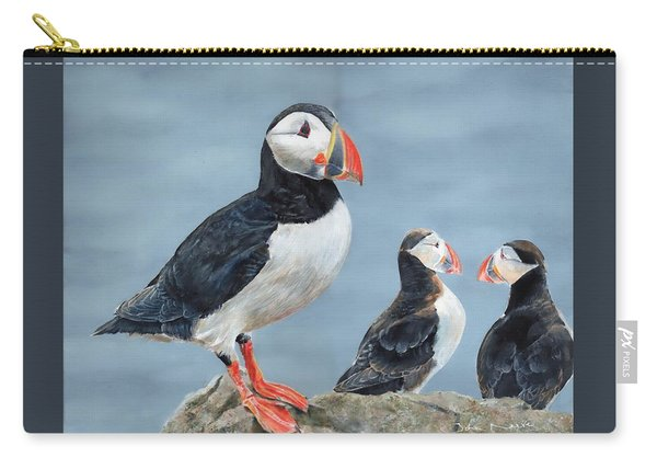 Clowns Of The Sea. Carry-all Pouch