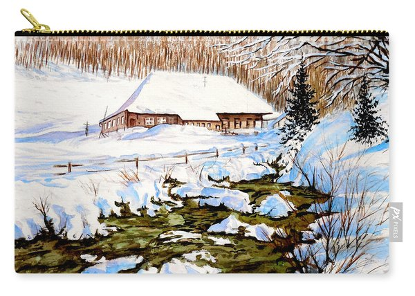 Clubhouse In Winter Carry-all Pouch