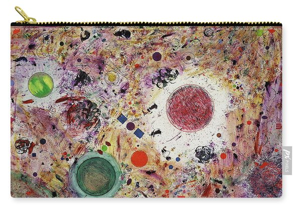 Carry-all Pouch featuring the painting Cluster Of Love by Michael Lucarelli