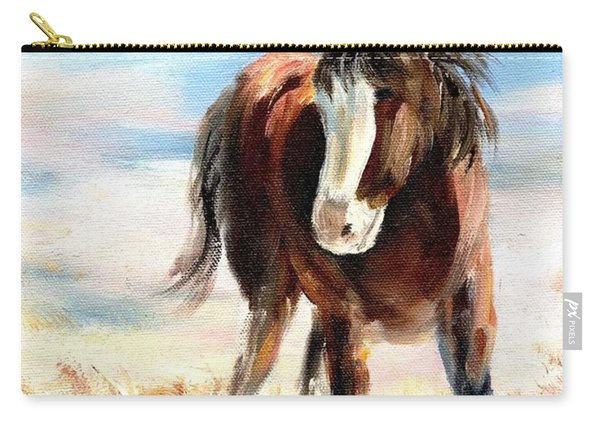 Clydesdale Foal Carry-all Pouch
