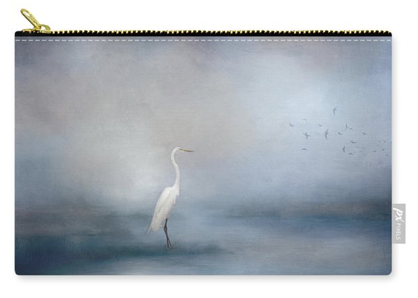 Coastal Egret Carry-all Pouch