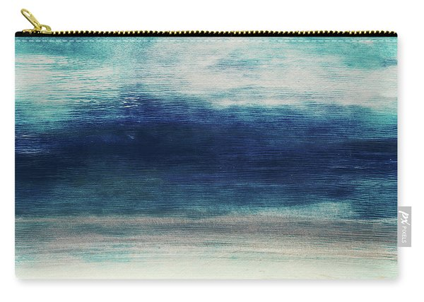 Coastal Escape 2- Art By Linda Woods Carry-all Pouch