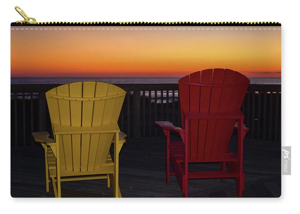 Coastal Mornings Carry-all Pouch