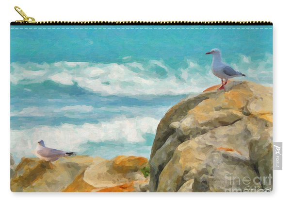 Coastal Rocks Carry-all Pouch