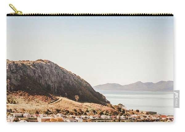 Coastal Tasmanian Town Carry-all Pouch