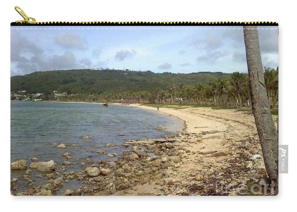 Carry-all Pouch featuring the photograph Coastline In Guam II by Jimmy Clark