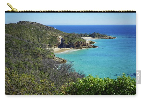 Coastline Views On Moreton Island Carry-all Pouch