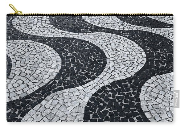 Cobblestone Waves Carry-all Pouch