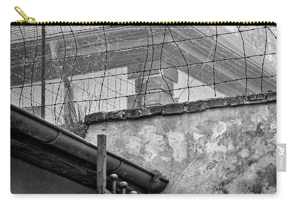 Cobwebs On Barbed Wire Carry-all Pouch