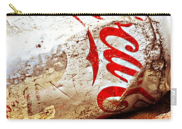 Carry-all Pouch featuring the photograph Coca Cola On The Rocks By Mike-hope by Michael Hope