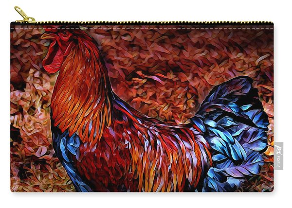 Cock Rooster Carry-all Pouch
