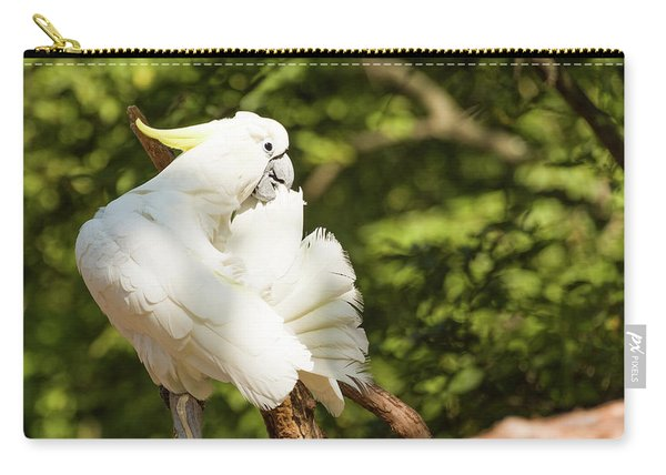 Cockatoo Preaning Carry-all Pouch
