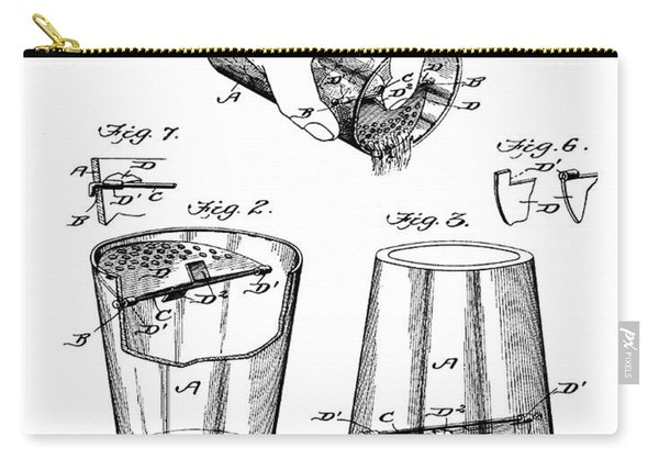 Cocktail Mixer Patent 1903  Carry-all Pouch