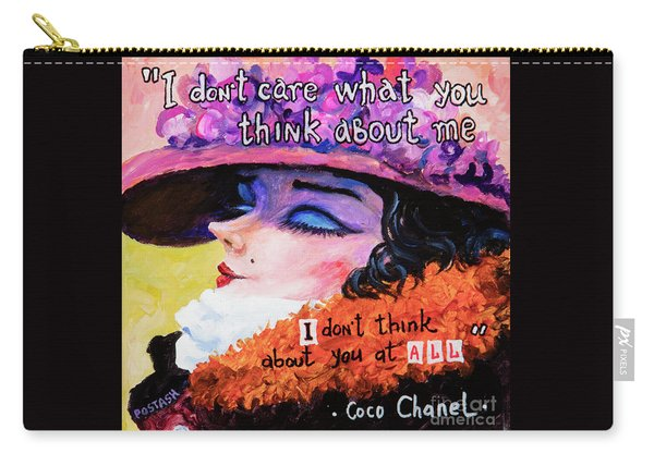 Coco Chanel Carry-all Pouch