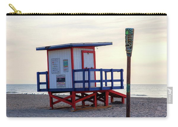 Cocoa Beach Lifeguard Tower Carry-all Pouch