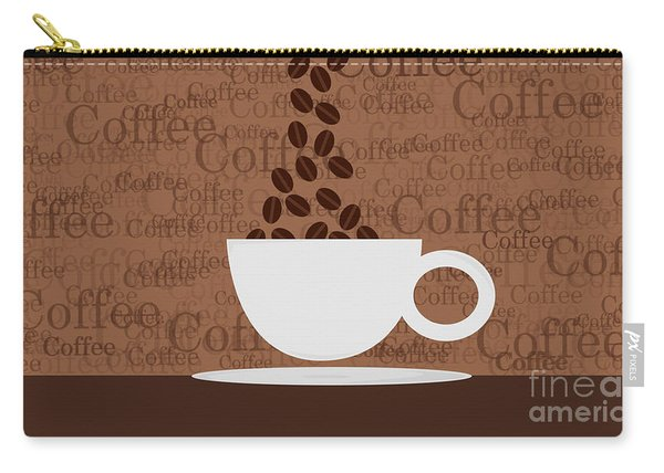 Coffee #3 Carry-all Pouch