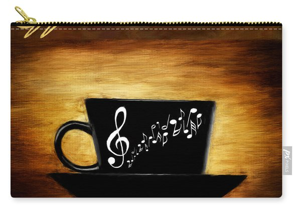 Coffee And Music Carry-all Pouch