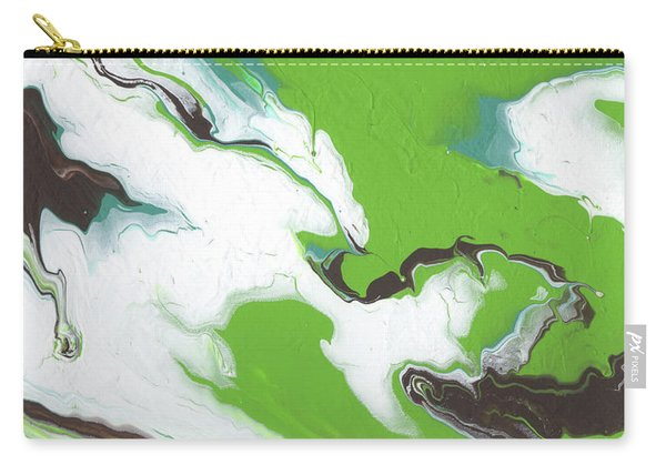 Coffee Bean 1- Abstract Art By Linda Woods Carry-all Pouch