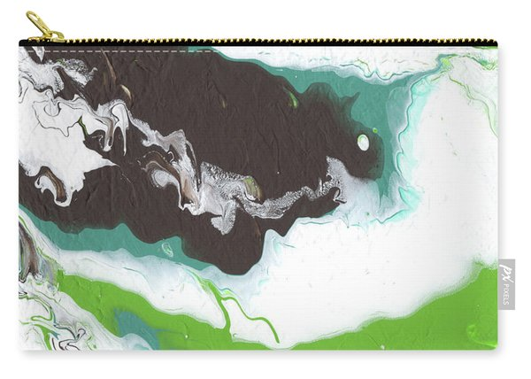 Coffee Bean 2- Abstract Art By Linda Woods Carry-all Pouch