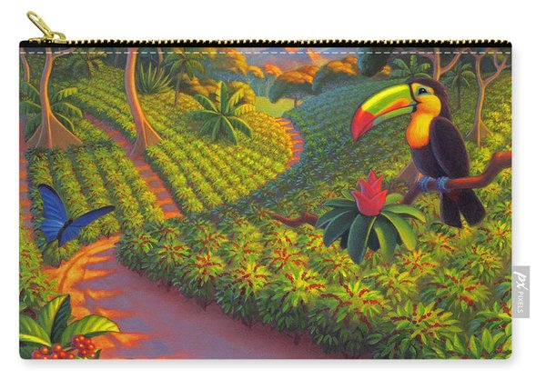 Coffee Plantation Carry-all Pouch