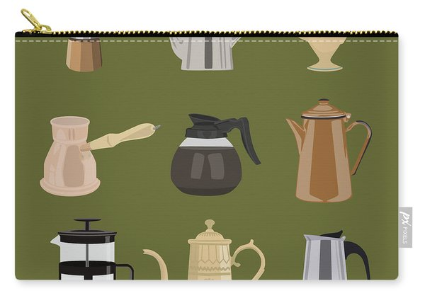 Coffee Pots Carry-all Pouch
