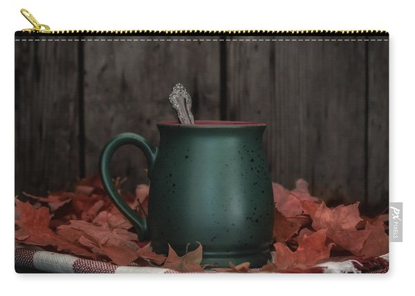 Coffee, Tea And Autumn Carry-all Pouch