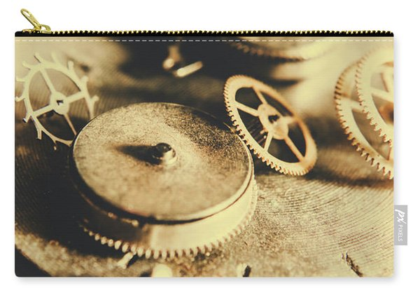 Cog And Gear Workings Carry-all Pouch