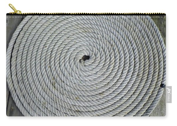 Coiled By D Hackett Carry-all Pouch